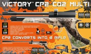 Victory CP2 Co2 Camo Pistol & Rifle .22 - 5.5mm Calibre Outfit